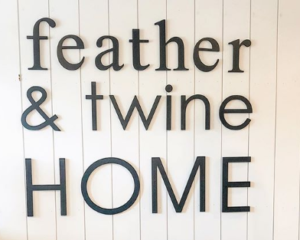 Shop Local | Feather and Twine Home Decor