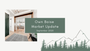 Boise Real Estate Market Update | September 2020